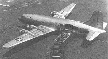 C-54 off-loading at Berlin