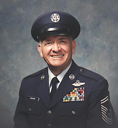 Chief Master Sergeant Jim Badgrow USAF (retired)